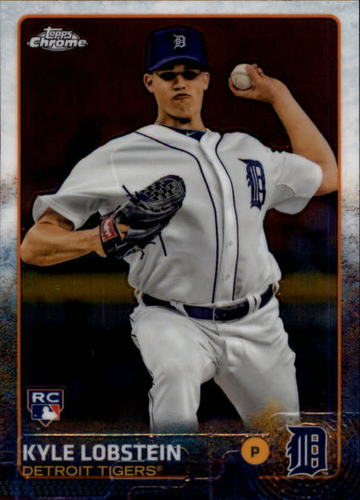 Photo of 2015 Topps Chrome #159 Kyle Lobstein RC