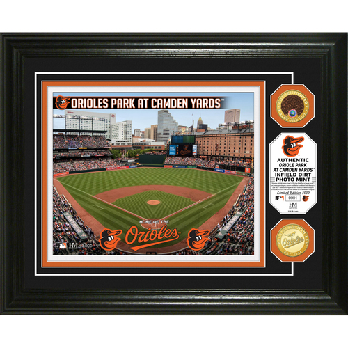 Photo of Serial #1! Baltimore Orioles Dirt Coin Photo Mint