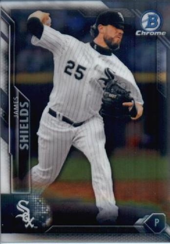 Photo of 2016 Bowman Chrome #88 James Shields
