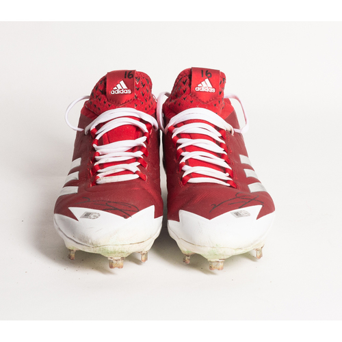Photo of Autographed Victor Robles Cleats - Winning Bidder Can Pick Up Items Directly From Victor on September 24, 2018