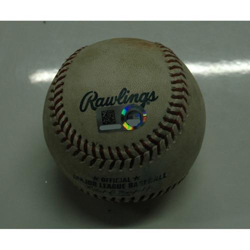 Photo of Game Used Baseball: 8-3-2018 vs. Angels - Shohei Ohtani (4 hits, 2 HR's), 1st Multihomer Game in the Majors
