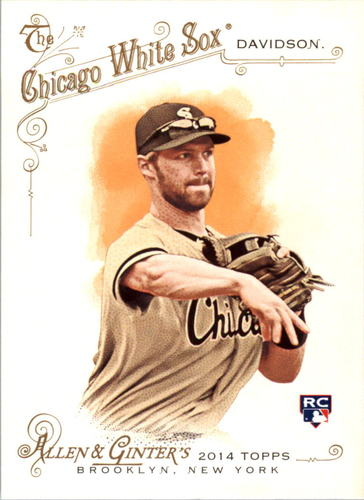 Photo of 2014 Topps Allen and Ginter #3 Matt Davidson RC