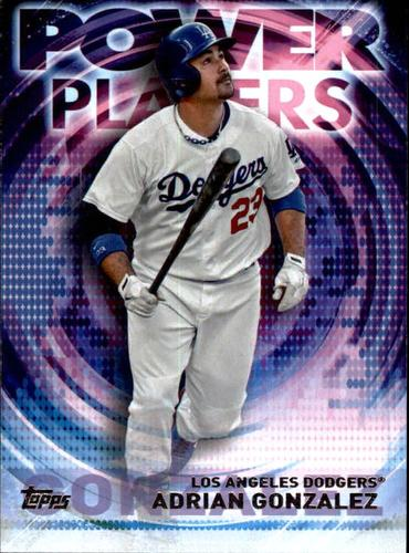 Photo of 2014 Topps Update Power Players #PPAAG Adrian Gonzalez