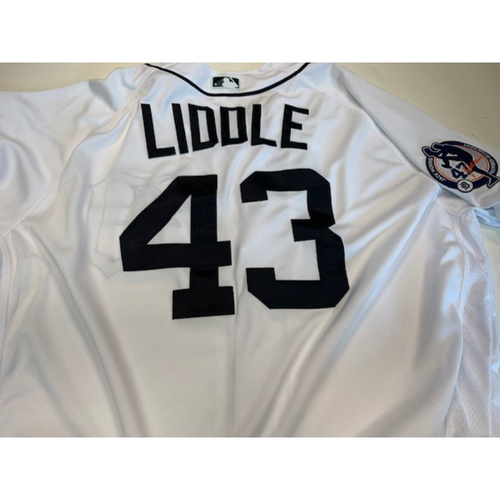 Photo of Game-Used Jack Morris Number Retirement Jersey: Steve Liddle