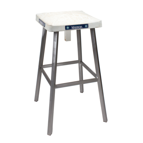 Photo of Tokens & Icons Seattle Mariners Game Used Base Stool