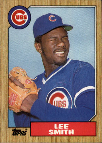 Photo of 1987 Topps #23 Lee Smith