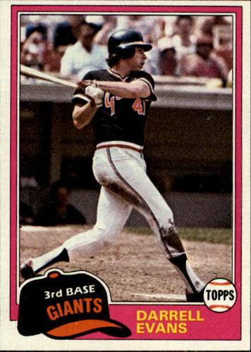 Photo of 1981 Topps #648 Darrell Evans