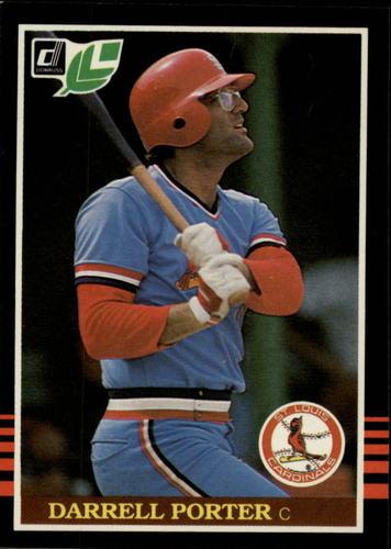 Photo of 1985 Leaf/Donruss #258 Darrell Porter