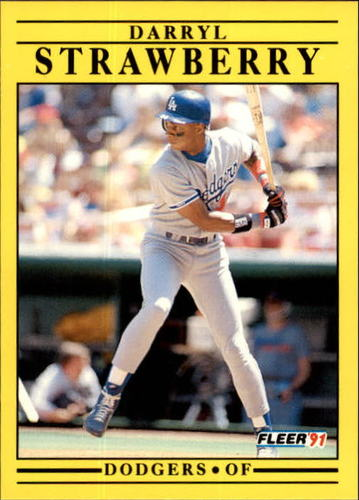 Photo of 1991 Fleer Update #96 Darryl Strawberry