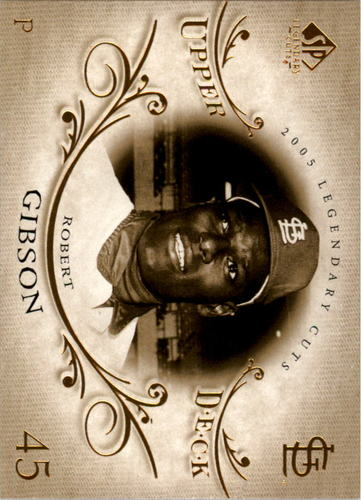 Photo of 2005 SP Legendary Cuts #6 Bob Gibson