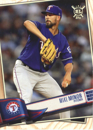 Photo of 2019 Topps Big League #306 Mike Minor