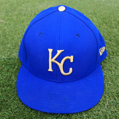 Photo of Game-Used Cap: Kevin McCarthy  (Size 7 1/2 - MIN @ KC - 9/27/19)