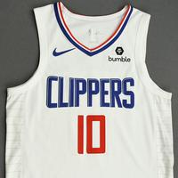Derrick Walton Jr. - Los Angeles Clippers - Game-Worn Association Edition Jersey - NBA Canada Series - 2019-20 NBA Preseason