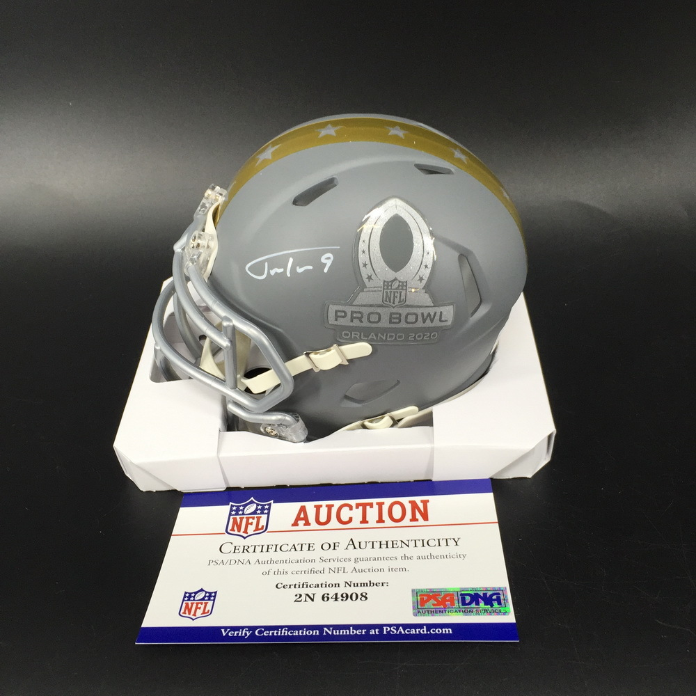 NFL - Ravens Justin Tucker Signed Pro Bowl 2020 Mini Helmet