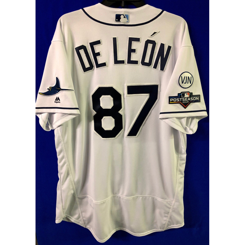 Photo of Team Issued 2019 Postseason Jersey: Jose De Leon