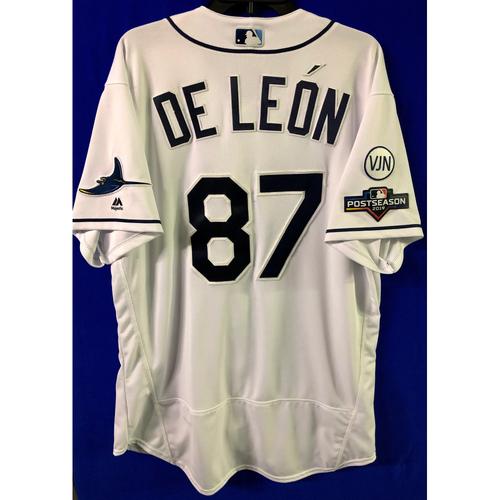 Photo of Team Issued 2019 Postseason Jersey: Jose De Leon