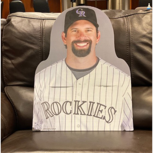 Photo of Colorado Rockies Foundation: Todd Helton Cardboard Cutout