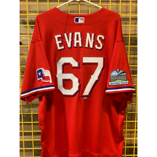 Photo of Dermacus Evans Team-Issued Red Jersey
