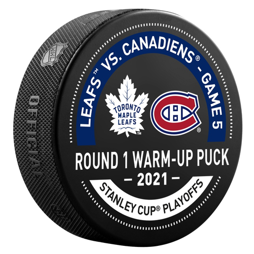 North Division Used Warm-Up Puck Round 1 Game 5