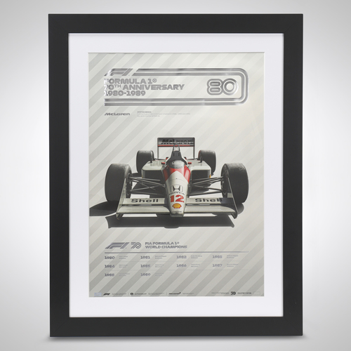 Photo of 70th Anniversary Automobilist Poster 1980-1989
