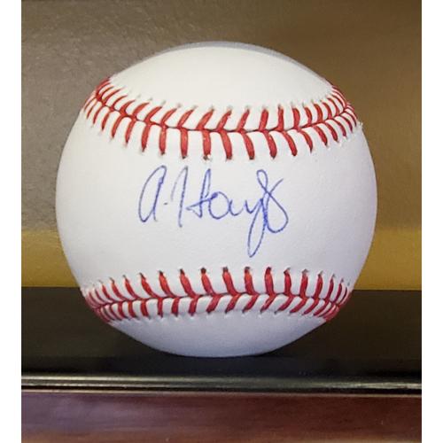 Photo of Austin Hays: Baseball - Autographed