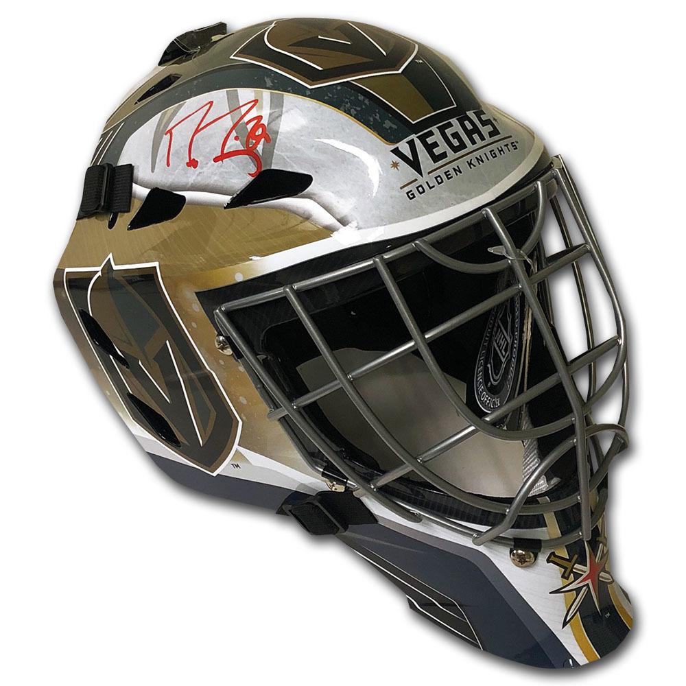 Marc-Andre Fleury Autographed Vegas Golden Knights Goalie Mask - Fanatics Authenticated