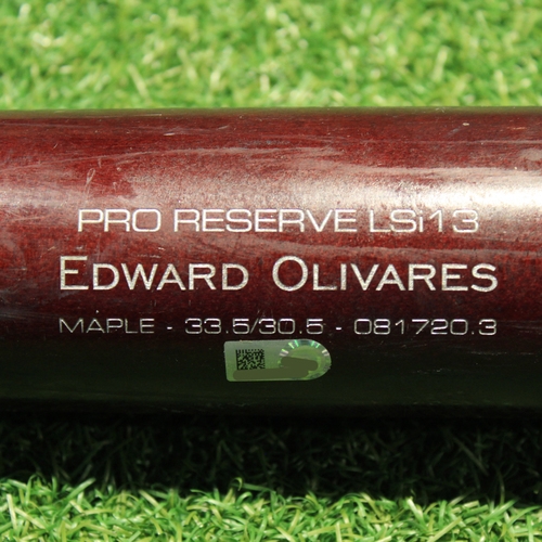 Photo of Game-Used Broken Bat: Edward Olivares #14 (KC@SEA 8/28/21)