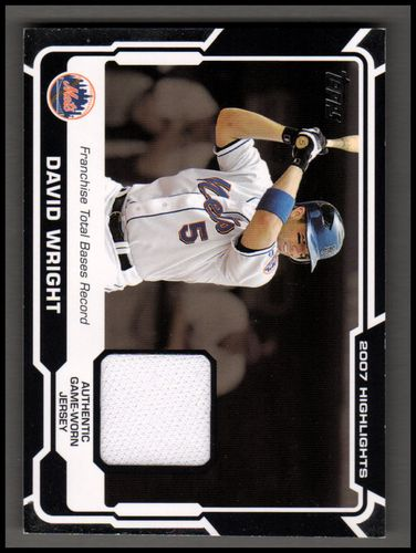 Photo of 2008 Topps Highlights Relics #DW David Wright D