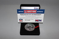 STS - USAA GAME USED FLIP COIN BRONCOS VS CHIEFS (NOVEMBER 27 2016)