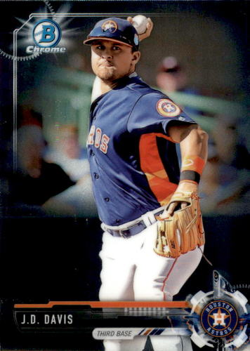 Photo of 2017 Bowman Chrome Prospects #BCP81 J.D. Davis