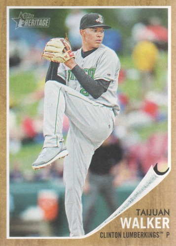Photo of 2011 Topps Heritage Minors #32 Taijuan Walker  Pre-Rookie Card