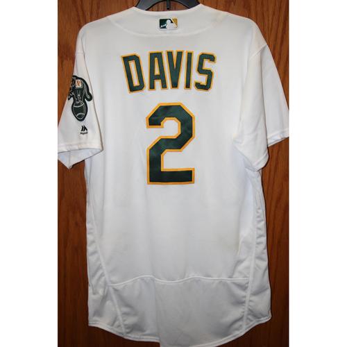 Khris Davis Game-Used
