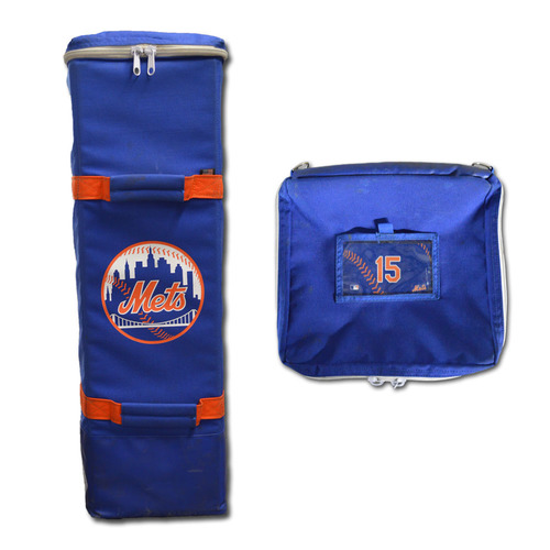 Photo of Matt Reynolds #15 - New York Mets Bat Bag - 2017 Season