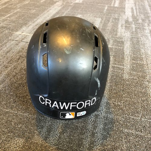 Photo of Brandon Crawford 2x ALL-STAR - Game-Used Helmet - HOMERUN