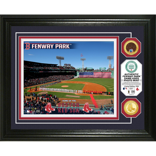 Photo of Serial #1! Boston Red Sox Dirt Coin Photo Mint