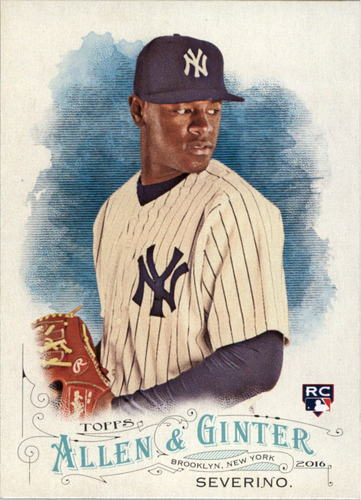 Photo of 2016 Topps Allen and Ginter #99 Luis Severino RC
