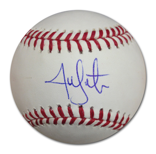 Photo of Jon Lester Autographed World Series Baseball