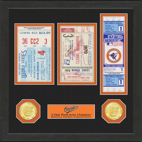 Photo of Baltimore Orioles World Series Ticket Collection