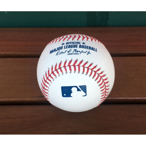 Photo of Autographed Baseball - Max Scherzer