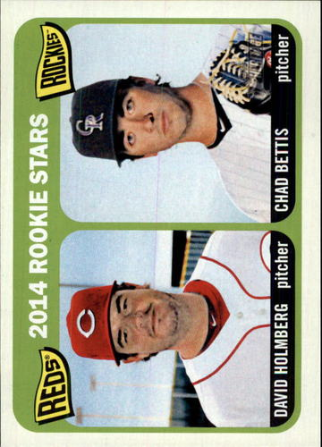 Photo of 2014 Topps Heritage #273 Chad Bettis RC/David Holmberg RC