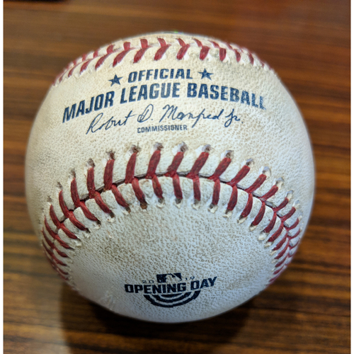 Gary Sanchez - Home Run: Game-Used