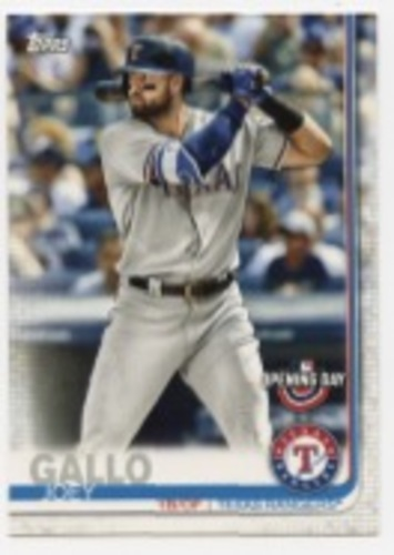 Photo of 2019 Topps Opening Day #176 Joey Gallo