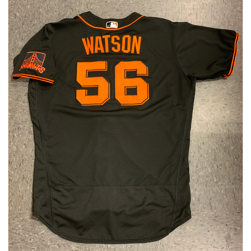 Photo of 2020 Team Issued Spring Training Jersey - #56 Tony Watson - authenticated 8/4/20 - size 50