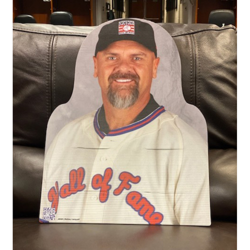 Photo of Colorado Rockies Foundation: Larry Walker 2020 Hall of Fame Cardboard Cutout