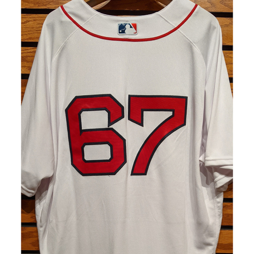 Photo of #67 Team Issued Home White Jersey