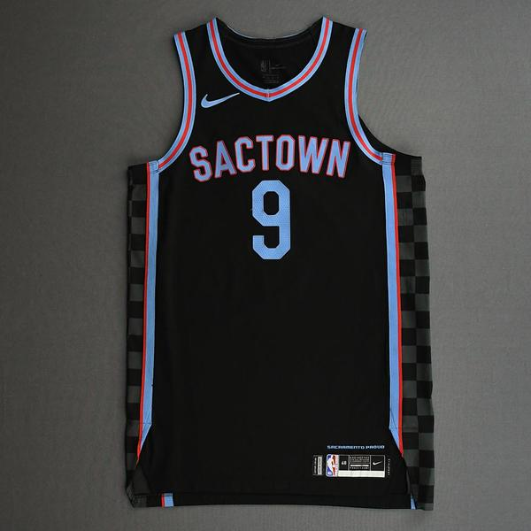 Image of Cory Joseph - Sacramento Kings - Game-Worn City Edition Jersey - 2020-21 NBA Season