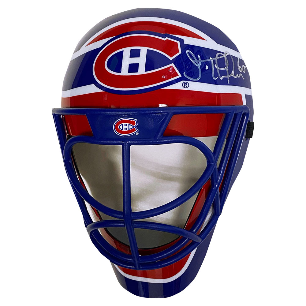 Jose Theodore Autographed Montreal Canadiens Fan Mask