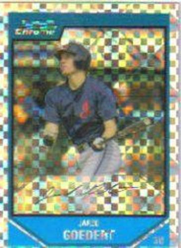 Photo of 2007 Bowman Chrome Prospects X-Fractors #BC147 Jared Goedert