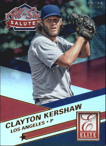 Photo of 2015 Elite All Star Salutes Gold #3 Clayton Kershaw