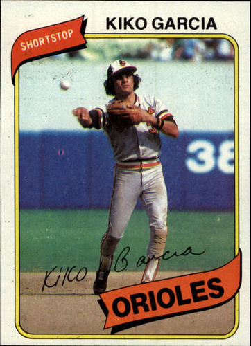 Photo of 1980 Topps #37 Kiko Garcia